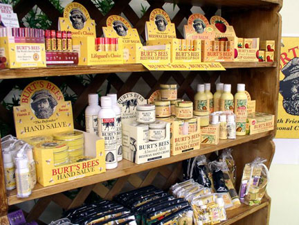 "Burt's Bees started out as a small company offering ""all-natural"" products.  In recent years, they were purchased by Clorox."